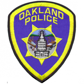 oakland police badge