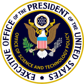 Seal for the White House Office of Science and Technology Policy